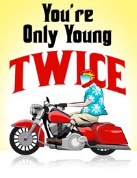 Young Twice Color Logo
