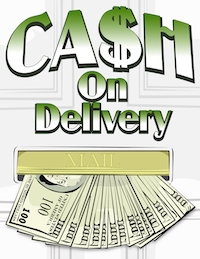 cash-on-delivery color logo